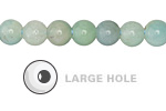 Amazonite Round (Large Hole) 8mm