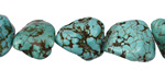 Turquoise Magnesite Nugget 13-20x10-15mm