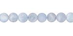 Aquamarine (matte) Round 6-7mm