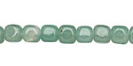 Green Aventurine Round Edge Cube 6-7mm