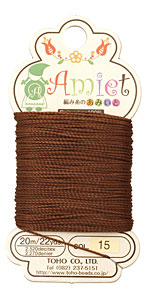 Auburn Amiet Thread 22 yards