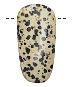 Dalmatian Jasper Drop Pendant (large hole) 27x53mm