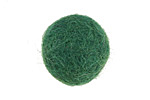 Pine Green Felt Round 20mm