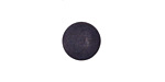 Matte Black Resin Round Cabochon 12mm