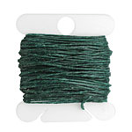Dark Forest Green Irish Waxed Linen 4 ply