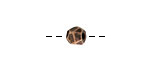 Nunn Design Antique Copper (plated) Faceted Round 6mm