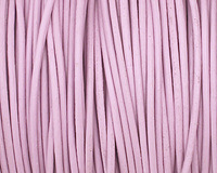 Lilac Round Leather Cord 1.5mm