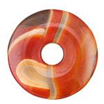 Lava Terra Agate Donut 40-45mm