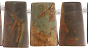 Red Creek Jasper (matte) Ladder 17-19x30mm