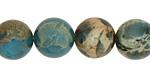 Turquoise Impression Jasper Round 14mm