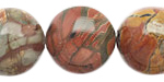Red Creek Jasper Round 20mm