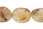 Rutilated Quartz Tumbled Nugget 18-27x15-22mm