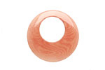 Tagua Nut Angel Skin Gypsy Hoop 25mm