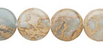 Impression Jasper Puff Coin 18mm