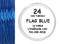 Parawire Flag Blue 24 Gauge, 10 Yards