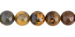 Golden Pietersite (more gold) Round 10mm