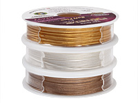 """Soft Flex Trios Extreme Assorted Color .024"""" (Heavy) 19 Strand Wire 3x10ft."""