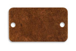 Vintaj Artisan Copper Rectangular Bracelet Altered Blank 40x23mm