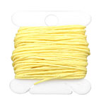 Lemon Yellow Irish Waxed Linen 4 ply