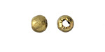 African Brass Polished Brass Round 8-9mm
