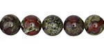 Dragon Blood Jasper Round 10mm
