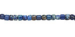 Midnight Blue Impression Jasper Tumbled Cube 3-4mm