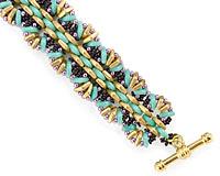 Wicker Bracelet Pattern