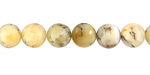 Yellow African Opal Round 8mm