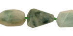 Burma Jade Faceted Flat Slab 15-33x11-15mm