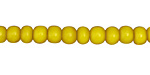 African Trade Beads Canary Yellow White Heart Glass 4-5x6-7mm