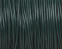 Bright Green Round Leather Cord 1.5mm