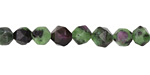 Ruby Zoisite Star Cut Round 6-7mm