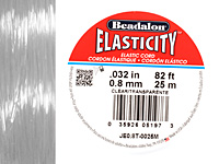 Elasticity Clear .8mm, 25 meters