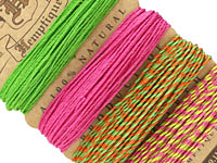 Summer Shindig 1 Hemp Twine 20 lb, 29.8 ft x 4 colors
