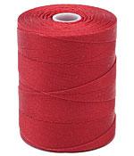 C-Lon Red Micro (.12mm) Bead Cord