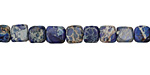 Midnight Blue Impression Jasper Tumbled Cube 7-10mm