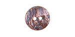 Greek Bronze (plated) Etched Button 17mm