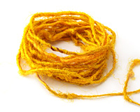 Marigold Recycled 100% Silk Sari Yarn