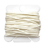 White Irish Waxed Linen 7 ply