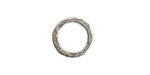 Nunn Design Antique Silver (plated) Small Hammered Circle 17.5mm