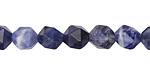 Sodalite Star Cut Round 8mm
