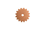 Copper Small Closed Gear 16mm