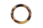 Zola Elements Light Tortoise Shell Acetate Ring 24mm