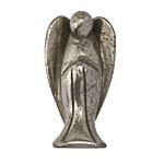 Golden Pyrite Angel Statuette 22x40mm