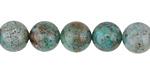 Dragon Blood Jade (A) Round 10mm