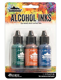Adirondack Rustic Lodge Alcohol Ink Kit