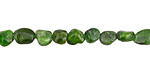Chrome Diopside Mini Tumbled Nugget 4-6mm