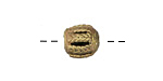 African Brass Braided Barrel 9-11mm