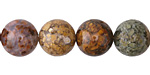 Autumn Agate Round 12mm