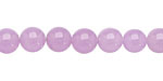 Lavender Colorful Jade Round 8mm